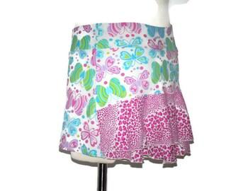 Tennis Running skirt skort with built in shorts. Girls 12 Large