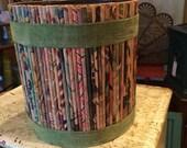 Vintage wastebasket