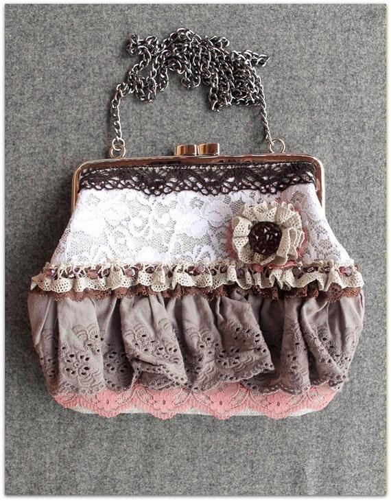 hand-sewn bag. No. 2. HANDICRAFT