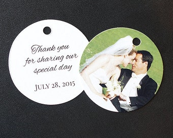 Wedding Tags (Round Tags)