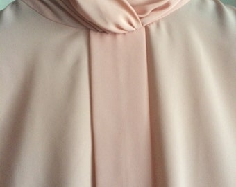 Vintage Silk Blouse • Size 6