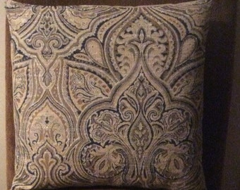 16 in RAMSEY reversible pillow cover