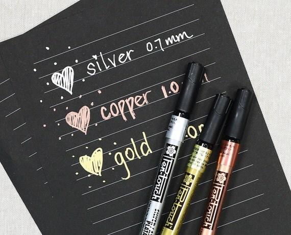 Gold Paint Pen Markers Pen Touch Gold