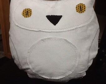 Pillow, owl, home decor, nursery,custom made,textiles,