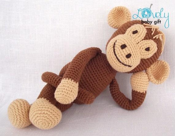 how to make a crochet monkey