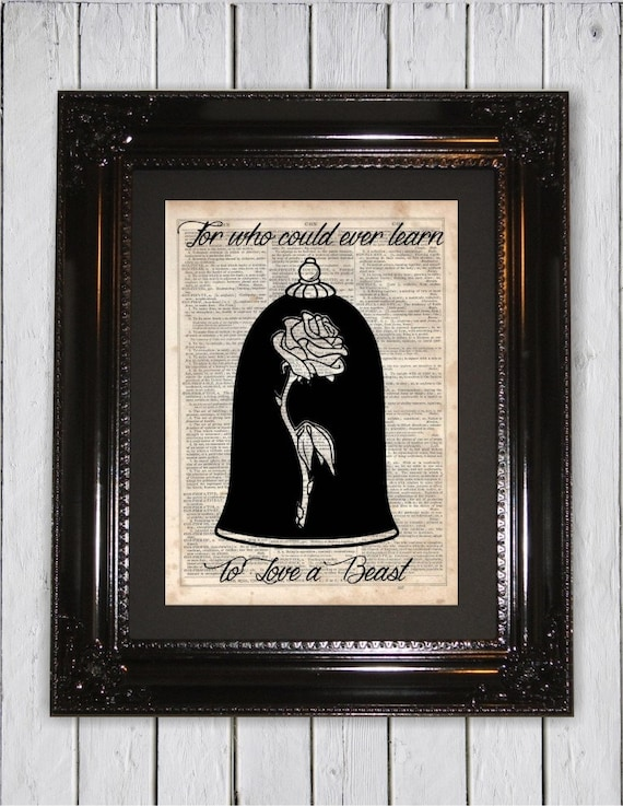Quotes From Beauty And The Beast About The Rose Beauty and the Beast I...