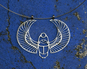 Scarab pendant (1,97 x 2,64) - Stainless Steel