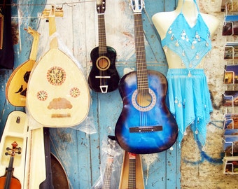 Music on the Road to Golgotha, Jerusalem, Israel, Armenian Quarter, Guitar, Dance, Photography