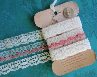 3 yards of vintage lace