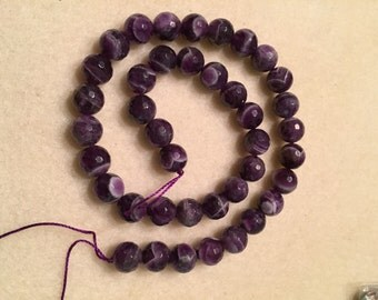 African Amethyst - faceted