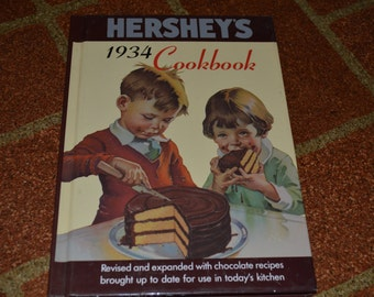 Hershey's 1934 Cookbook Reproduction from Wilton House 1992