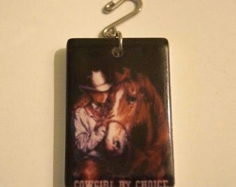 Cowgirl by Choice Pendant