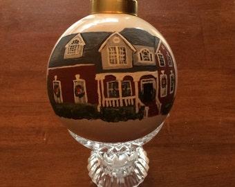 Custom Hand Painted Ornaments