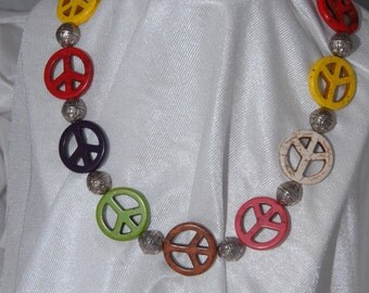 Handmade Peace Signs - Multi-Color