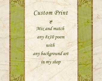 custom written poems