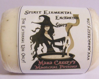 Spirit Elemental Enchanted Soap Handcrafted Wicca Pagan Witchcraft