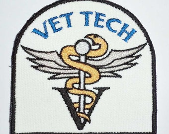 Iron on Patch - VETERINARY TECHNICIAN