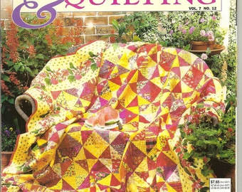 Australian Patchwork & Quilting Magazine Vol 8 No 12