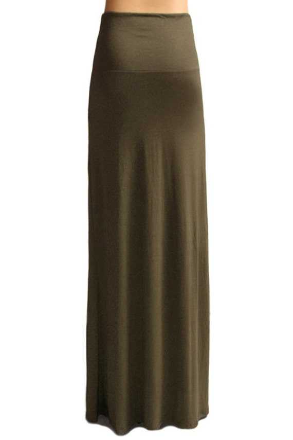 Army Green Maxi Skirt, Army Green Plus Size Maxi Skirt, Army Green Long Skirt, Army Green Skirt for Women,Comfortable Maxi Skirt,Summer Maxi. Luxurious length, a comfy banded waistband and a hint of stretch make this skirt the perfect fit/5().
