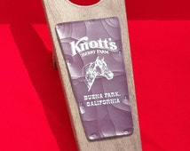 Vintage Knott's Berry Farm Boot Remover - Wooden Boot Jack
