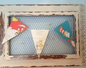 Items Similar To Seuss Bunting Suess Banner Nostalgic