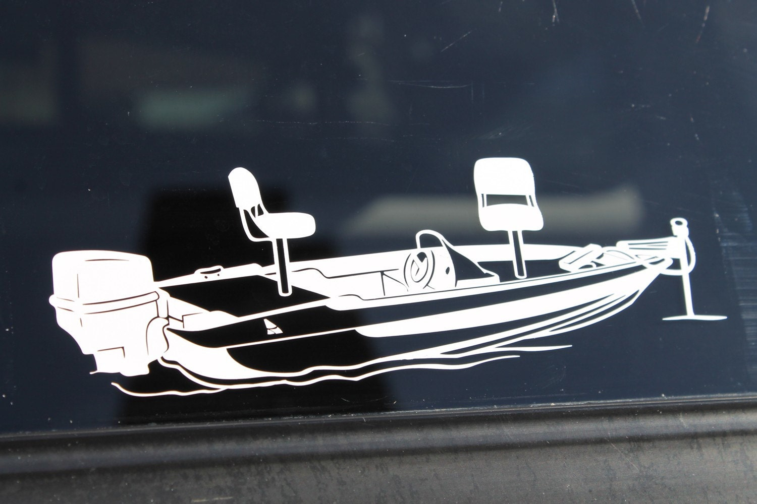Decal fishing boat for Fishing boat decals
