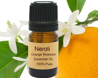 Neroli Orange Blossom Essential Oil  5 ml, 10 ml or 15 ml