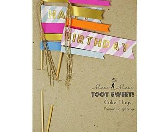 Birthday Cake Topper Toot Sweet Meri Meri