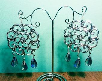 Swirl Fantasy Earrings