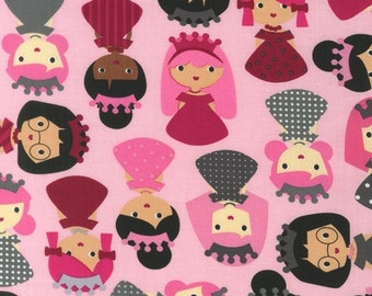 Robert Kaufman Fabric - Sweet - Girl Friends - from FQ to a Metre