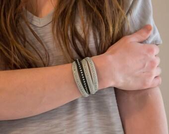 Cloth bracelet - Zircon bracelet