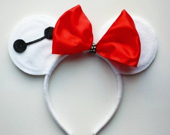 Baymax inspired mouse ears