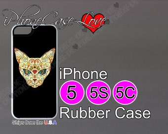 iphone 5 case - iphone 5s case - iphone 5c case -  sugar skull iphone 5 case - sugar skull iphone 5s case  - sugar skull iphone 5c case - S2