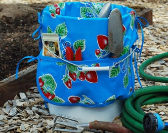 Garden Bucket Caddy – Garden Tote—Craft Caddy – Bucket Organizer—Tool Carrier