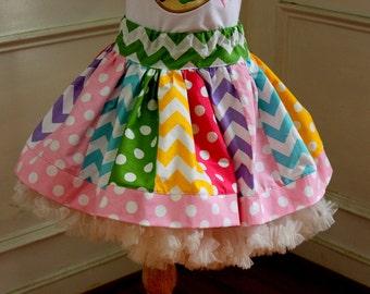 Candy birthday outfit polka dot skirt girls birthday rainbow skirt rainbow skirt polka dot skirt pink aqua yellow green purple skirt
