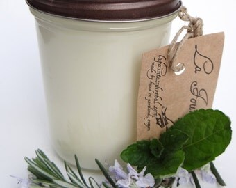 2 Organic Soy Candles, Soy Candles, Gift Candles