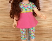 tunic set with roller skates