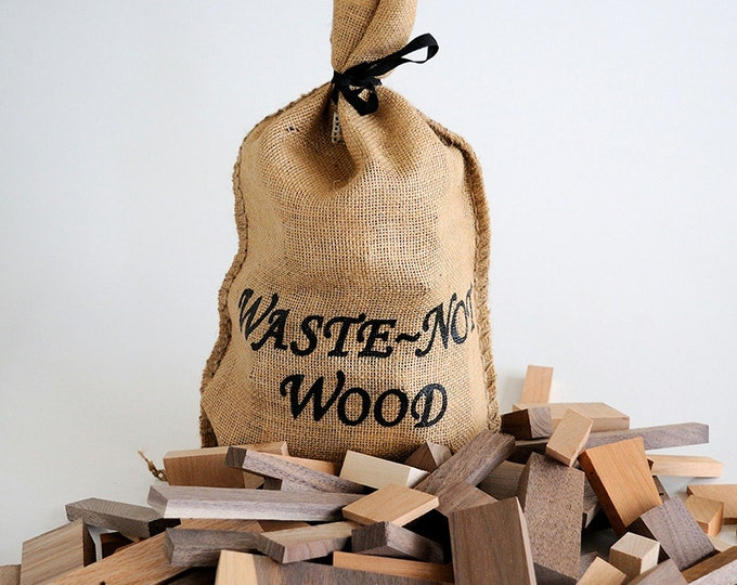 Waste~Not Wood, Wooden Building Blocks for children or crafts