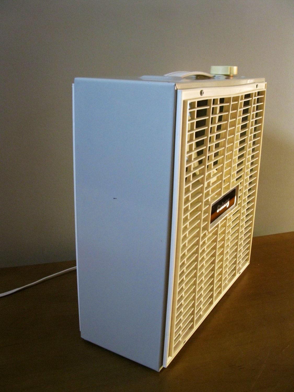 Galaxy Box Fan : Galaxy metal box fan beige electric by oakiesclaptrap