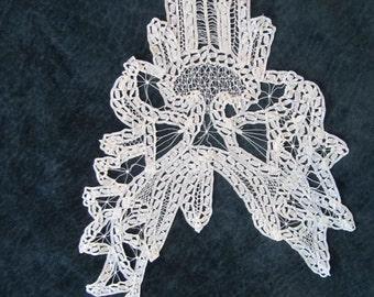 antique lace, handmade, circa 1880