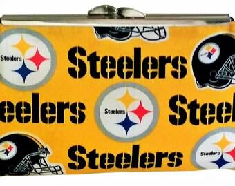 Steelers, Giants, San Francisco Football Fan Team Fabric Purse!