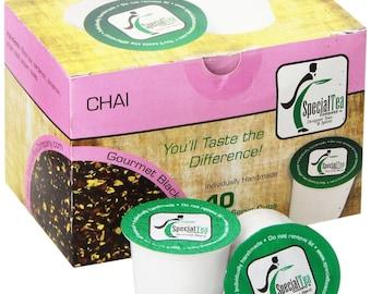 Organic Chai, Single Serve Tea Pod (Pack of 10)
