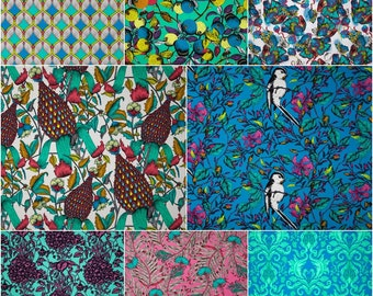Studio KM, The Garden of Earthly Delights Cotton Fabric by Free Spirit! [Choose Your Cut Size]