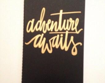 Custom Adventure Awaits Moleskine Notebook Planner