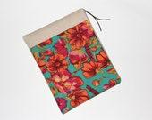 iPad cover , Google Nexus 10 Case, iPad sleeve, Padded,10 inch Tablet sleeve, Handmade iPad case