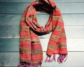 Bohemian Handwoven Cotton Scarf