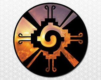 Sacred Geometry Hunab Ku sticker