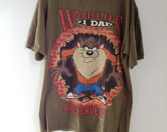 Tasmanian Devil #1 Dad T-Shirt - Large