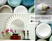 Fusion Mineral Paint - Picket Fence Furniture Paint - No Waxing Needed - Environmentally Friendly - Michael Penney Collection