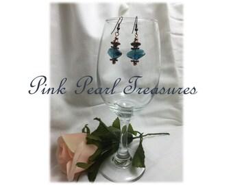 Celestial Blue dangle earrings